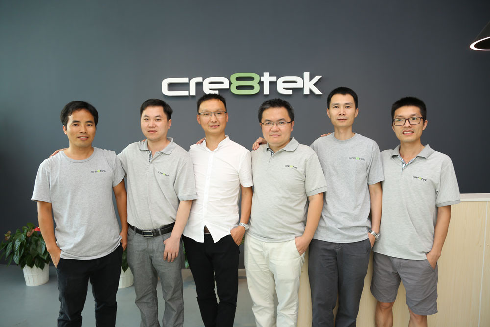 Cre8tek merging activities in China